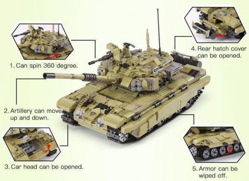 FV101 Scorpion - 1386 Pieces