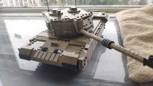 FV4034 Challenger 2 British Tank - 1441 Pieces
