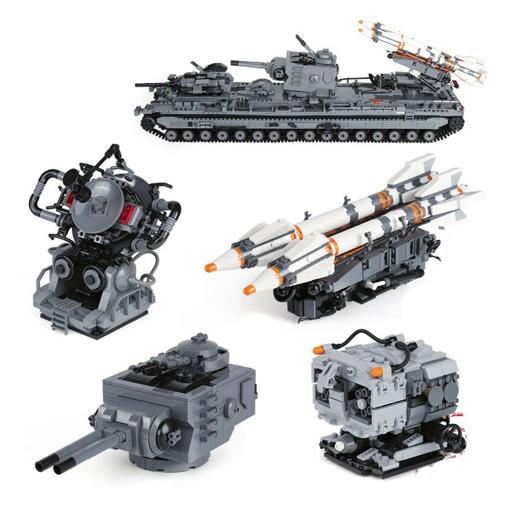 KV-VI Behemoth Russian Tank - 3663 Pieces