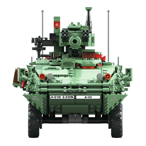 M1128 Mobile Gun System Stryker - 1678 Pieces