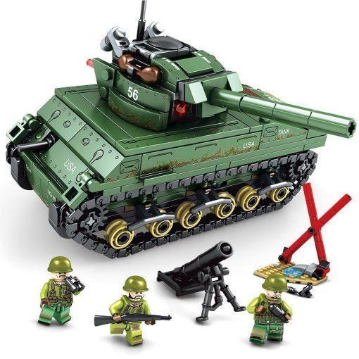M4 Sherman Medium Tank - 427 Pieces