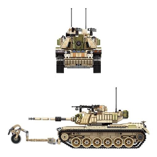 M60 Magach (Ma-GAKH) Tank - 1753 Pieces