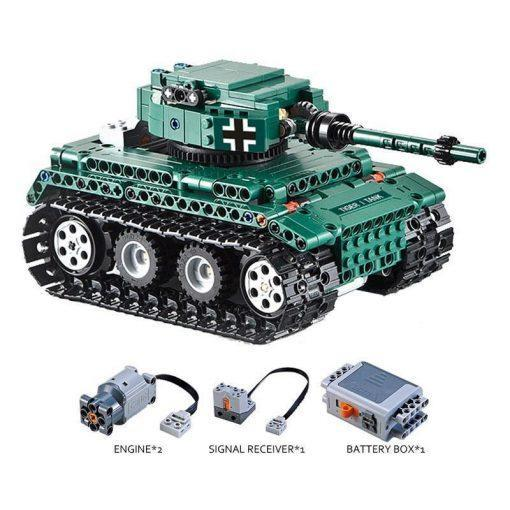 Panzer IV Tank RC - 313 Pieces With Controller