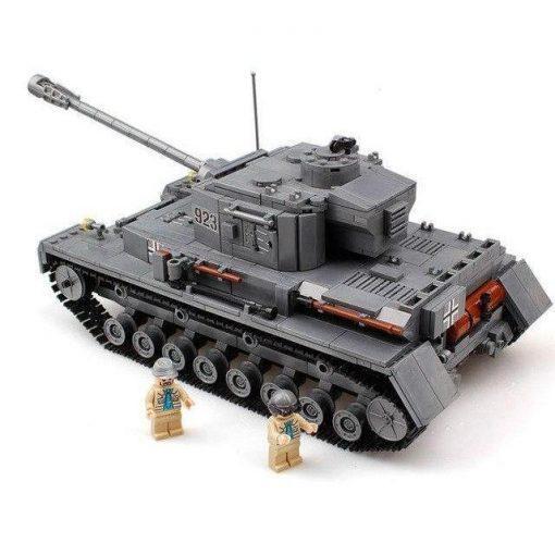 Panzerkampfwagen IV (PzKpfw IV) German Tank - 1193 Pieces