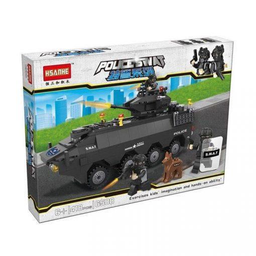 S.W.A.T. Tank - 418 Pieces