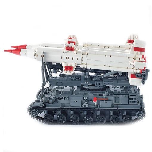 SA-4 Ganef (2K11 Krug) Missile Tank - 1469 Pieces