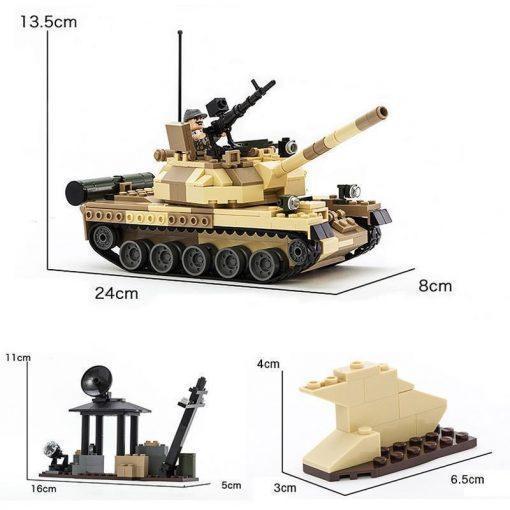 T-62 Soviet Main Battle Tank - 372 Pieces