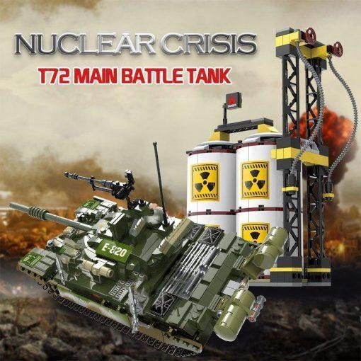 "T-72 Main Battle Tank - ""Nuclear Crisis"" Playset - 1028 Pieces"