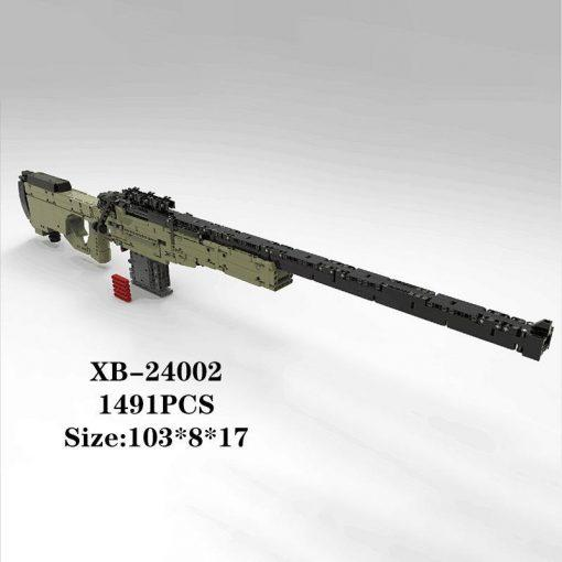 105cm AWM Sniper Rifle - 1491 Pieces