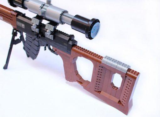 Dragunov SVD Sniper Rifle - 720 Pieces