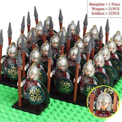 Elf Spearmen 21 Minifigures Pack