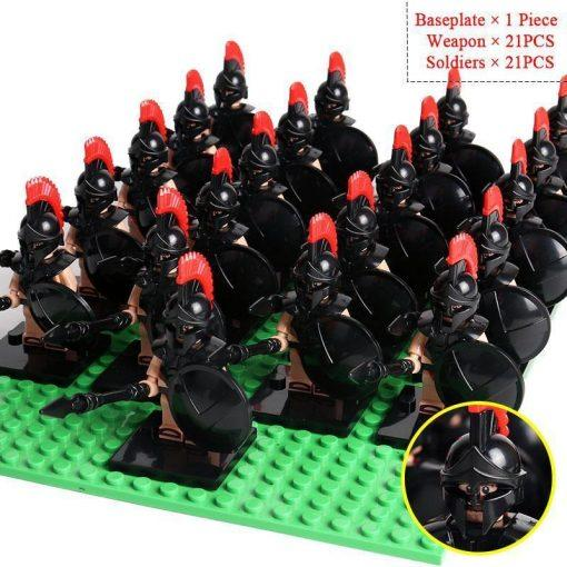 Elite Spartan Soldiers 21 Minifigures Pack