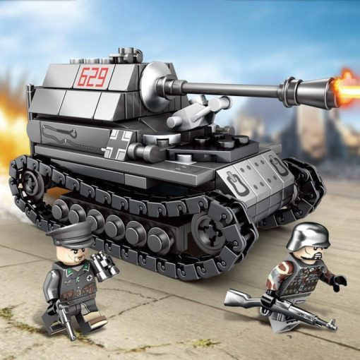 German Super Tank 4in1 - 957 Pieces
