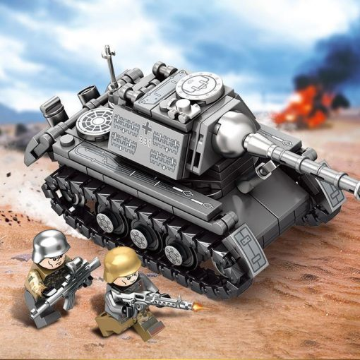 German Super Tank 4in1 - 957 Pieces
