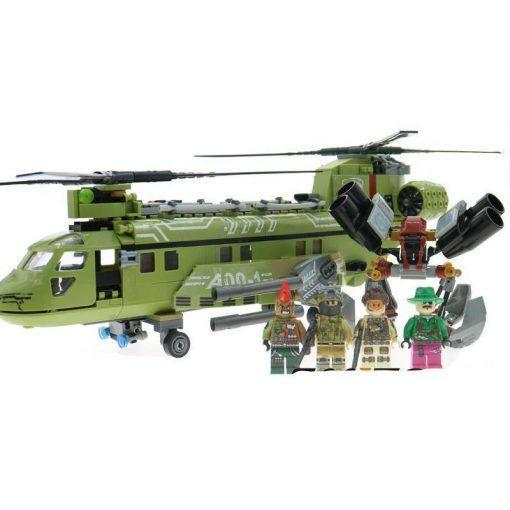Heavy Bomber Helicopter - 506 Pieces