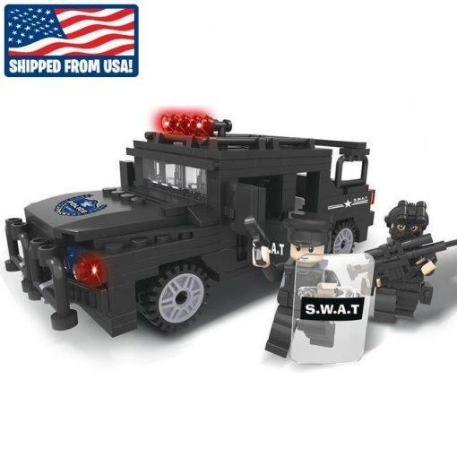 SWAT Armored SUV - 254 Pieces
