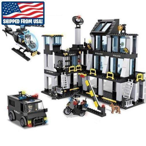 SWAT Base Station Playset - 743 Pieces