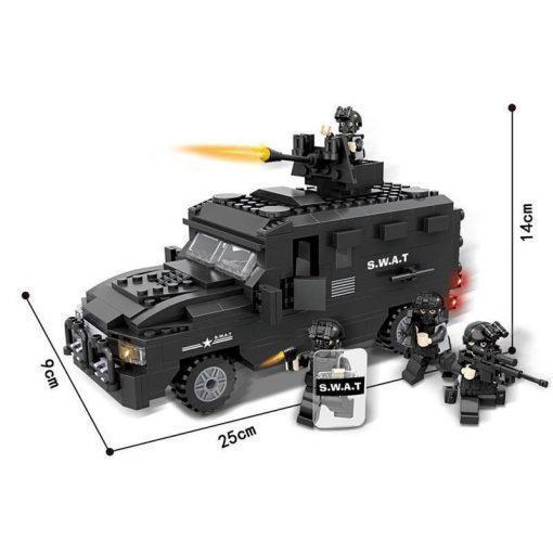 SWAT EP-Car - 423 Pieces