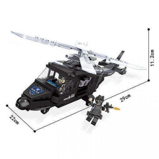 SWAT Helicopter - 254 Pieces