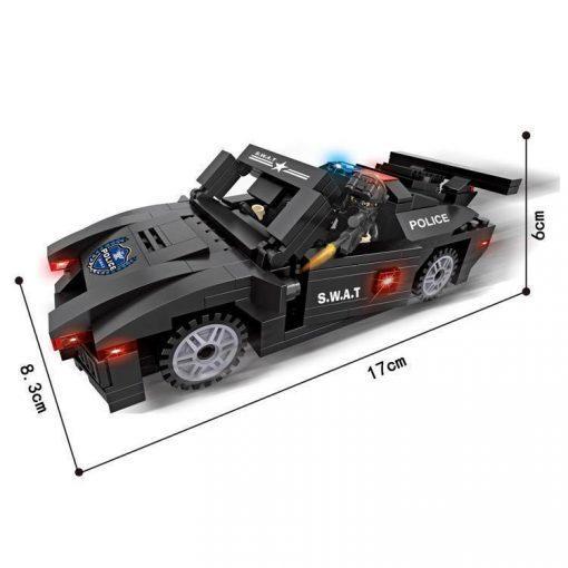 SWAT Muscle Car - 277 Pieces