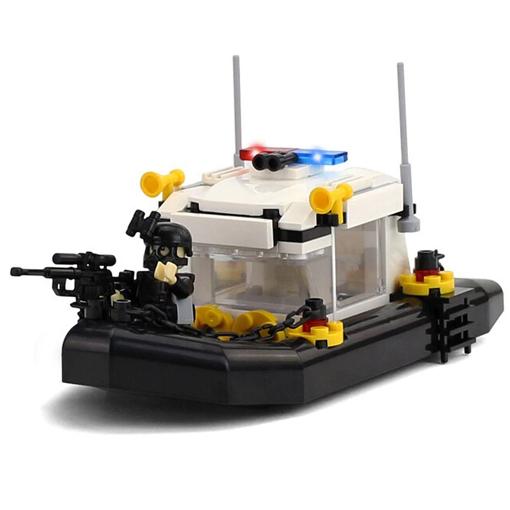 SWAT Patrol Boat - 168 Pieces