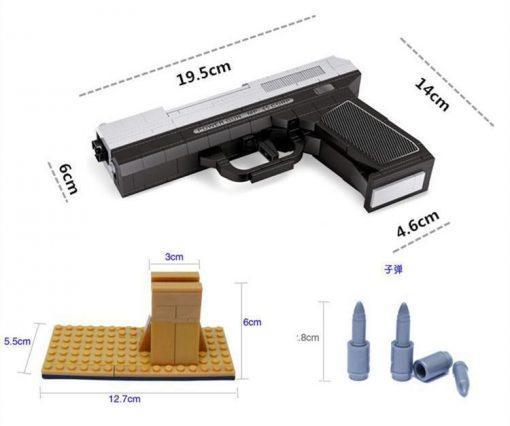 Smith & Wesson MP-45 Pistol - 268 Pieces