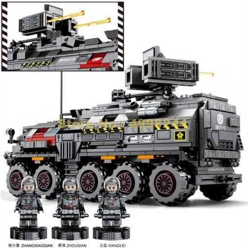 The Wandering Earth CN171 Troop Carrier - 811 Pieces