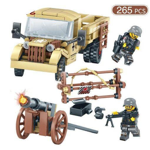 World War 1 Military Playset - 1035 Pieces