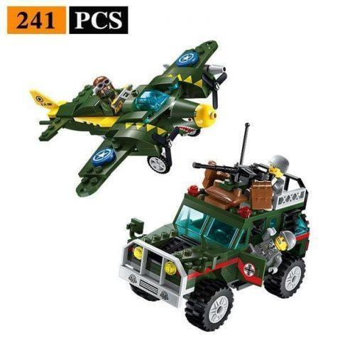 World War 2 Small Playset - 1105 Pieces